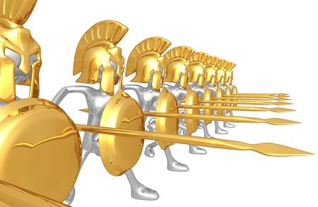 Spartan Phalanx Zdjęcie Seryjne - 4447721