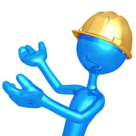 建設発表 写真素材