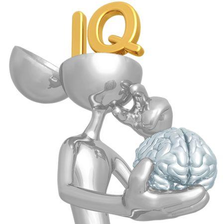I.Q. 免版税图像 - 4448122