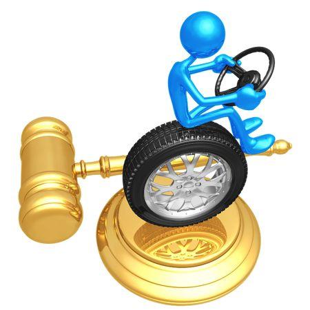 Traffic Court 免版税图像