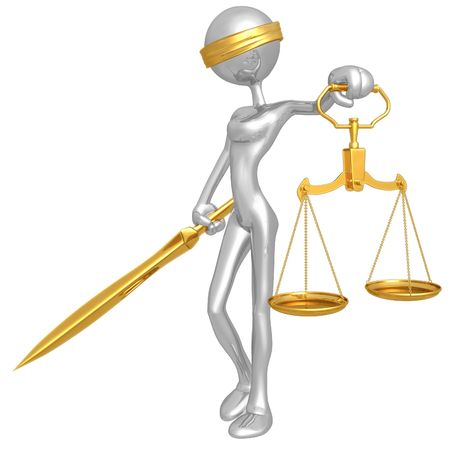 Lady Justice Stock Photo - 4494659