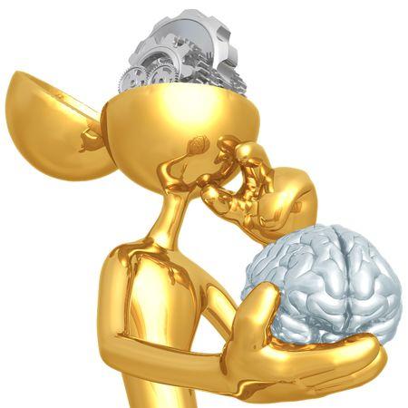 Gear Mind 免版税图像