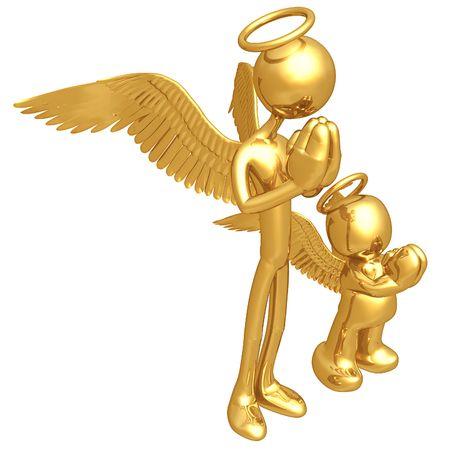 Original and Copycat Angel