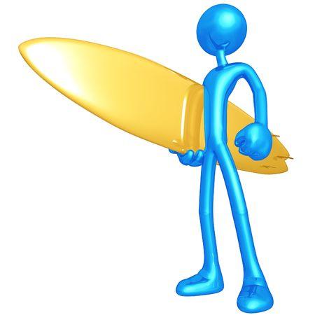 Surfer 免版税图像