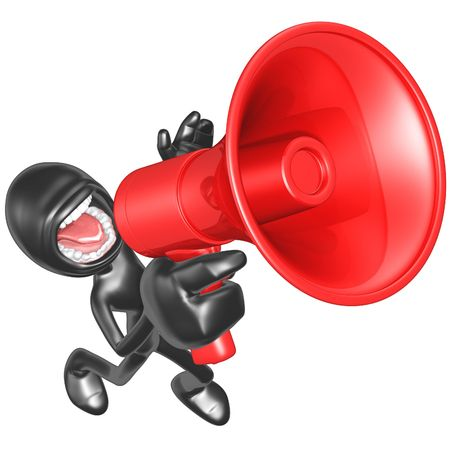 Megaphone 免版税图像