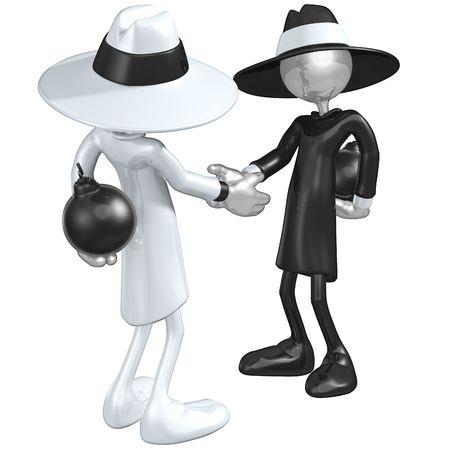 Spy Games Handshake