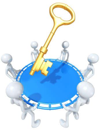 Safety Net Catching A Golden Key