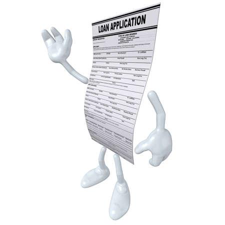 Loan Application Stock Photo - 4931011
