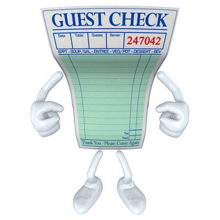 Restaurant Guest Check
