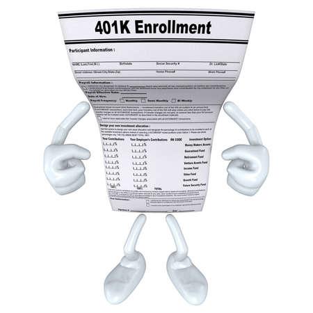 Formulier 401K