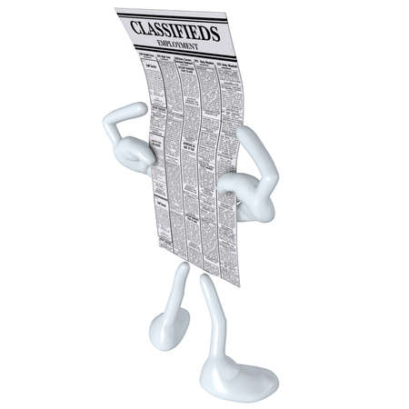 Employment Classifieds Stock Photo - 4931056