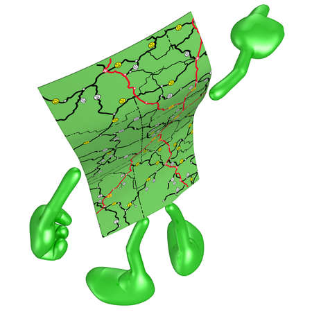 Road Map Stock Photo - 4931008