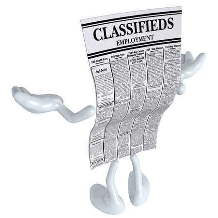 Employment Classifieds  Stock Photo - 4931015