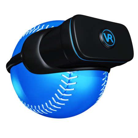 Virtual Reality VR 3D Illustration Reklamní fotografie
