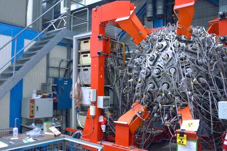 a Large Hadron Collider, collider installation details.