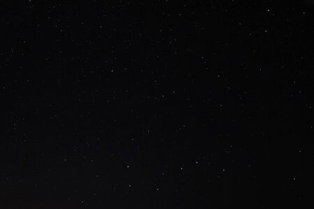 Starry sky background picture of stars in the night sky and the Milky Way.
