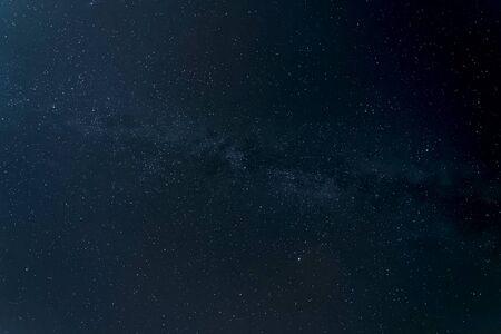 Sternenhimmel Hintergrundbild von Sternen am Nachthimmel und der Milchstraße.