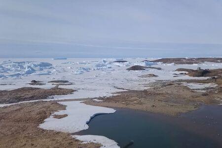 Ice arrays of antarctica. Icebergs in Antarctic waters.