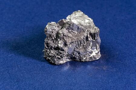 A piece of antimony, chemical and physical experiments on pure antimony.