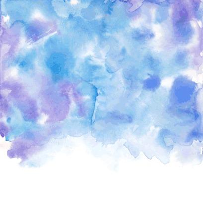 Vector Watercolor background. Vector illustration.