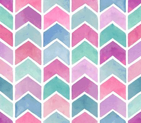 Seamless watercolor pattern. Vector illustration. Иллюстрация