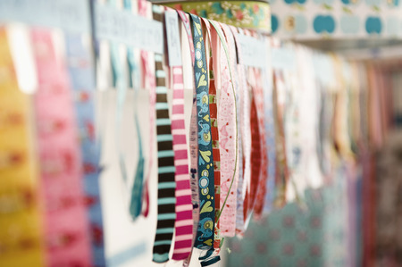 Variety Of Ribbons, Munich, Bavaria, Germany, Europe LANG_EVOIMAGES