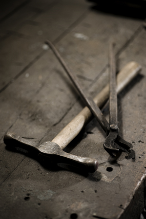 landshut: Blacksmith tools, Landshut, Bavaria, Germany