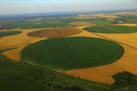 Patchwork Landscape, Croatia, Slavonia, Europe