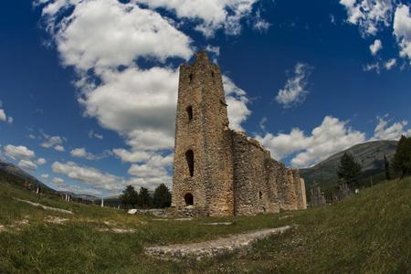 Ruinous church, Croatia