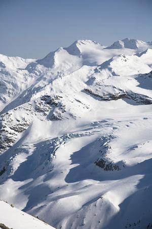britannia: Mountain scenery, Mt Strahlhorn and Britannia Huette, Saas Fee, Valais, Switzerland LANG_EVOIMAGES