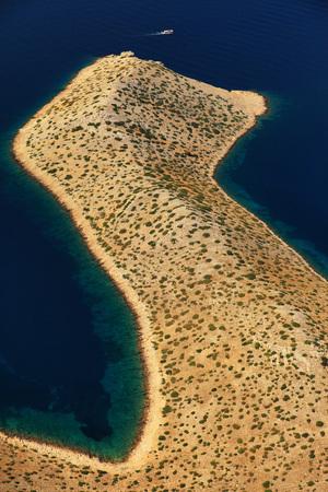 Aerial View, Kornati, Dalmatia LANG_EVOIMAGES