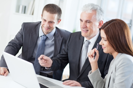 Successful business team at work. Stock Photo - 19608618