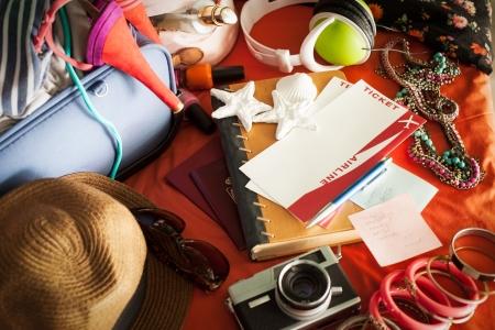 messy room: Woman Stock Photo