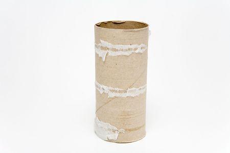 necessities: Empty toilet paper roll