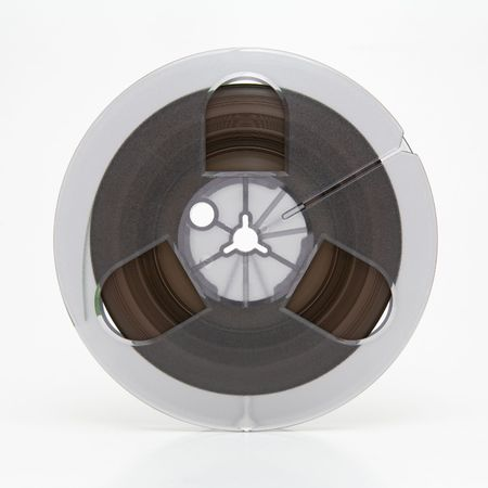 Small professional audio tape reel