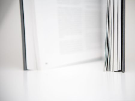Open book in an abstract environment Stock Photo - 643759