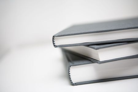 Books piled in abstract environment Stock Photo - 643583