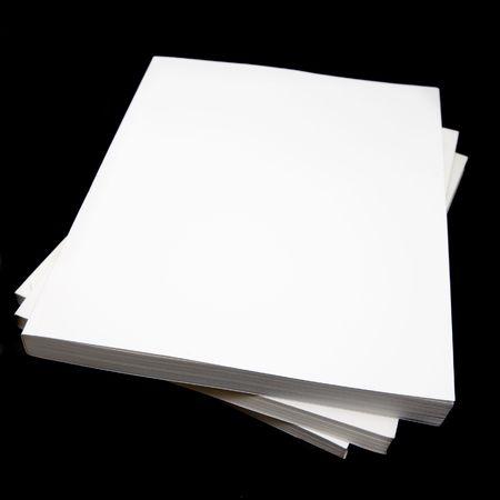 paperback: Brossura libri (manuali), su uno sfondo nero