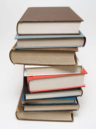 Well read books piled Stock Photo - 642879