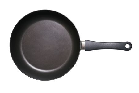 Fry pan isolated on a white background