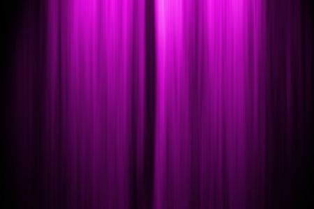 Computer generated illustation of a theatre stage curtain Stock Photo