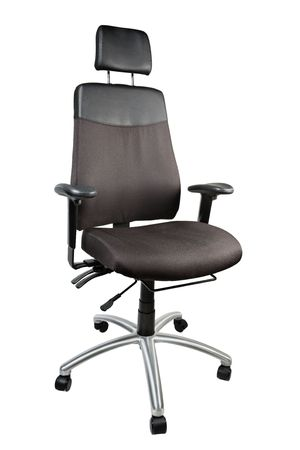 Office chair isolated on a white background photo