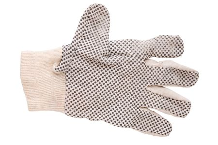 Work glove isolated on a white background