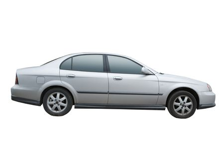 Car isolated on a white background Stock Photo
