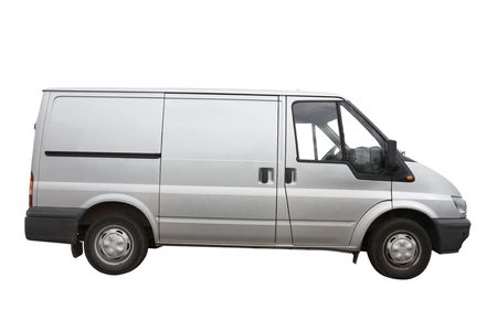 Van isolated on a white background Stock Photo - 2323026