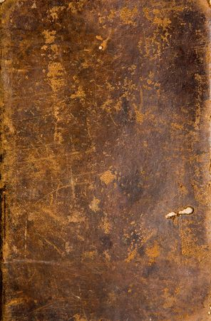Texture of an antique book cover Stock Photo