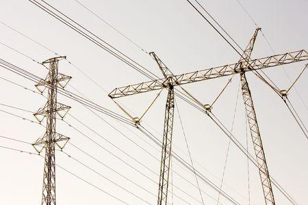 hight tech: High voltage electricity pylon structures