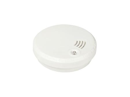 Smoke alarm isolated on white background