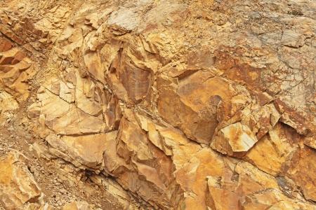 Estructura de la cantera de piedra de cerca Foto de archivo