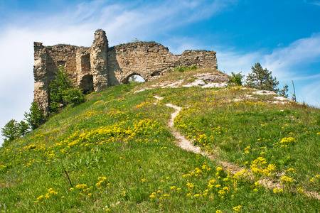 17th: Destroyed medieval fortress  near Kudriyntsy township, constructed in the 17th centuries (started in 1615), Ukraine